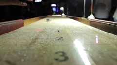 Shuffleboard Stock Footage