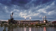 Stock Video Footage of 4K Pittsburgh PNC Park Establishing Shot