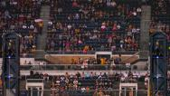 Stock Video Footage of 4K PNC Park Sports Fans Cheering and Clapping