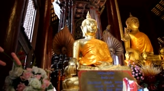 Temples in Chiang Mai.17 Stock Footage