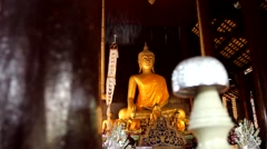 Temples in Chiang Mai.9 Stock Footage