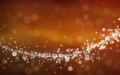 starry festive background bokeh - stock illustration