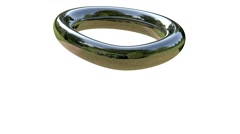 Vortex Chrom Ring Stock Footage