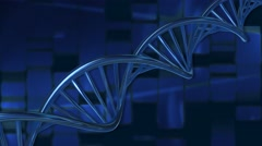 DNA String Medicine Science and Technology Background Stock Footage