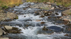 Mountain creek rapids - stock footage