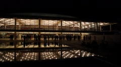 The Israel Philharmonic Orchestra performs Carmen Opera at the Culture Palace - stock footage