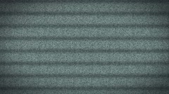 Television Tv Screen White Noise Static stripes - 4K Ultra HD Stock Footage