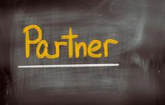 Stock Illustration of partner concept