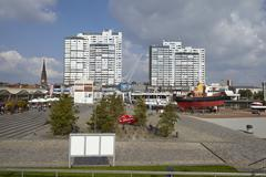 Bremerhaven (germany) - residential towers Stock Photos