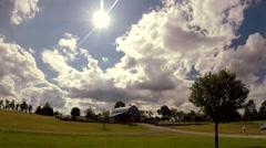Timelapse barn 2 - stock footage