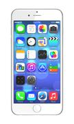 apple iphone 6 plus - stock illustration