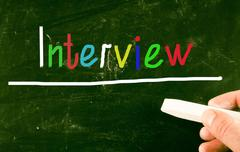 Interview concept Piirros