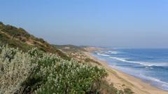 Beautiful remote Australian Coastline Stock Footage