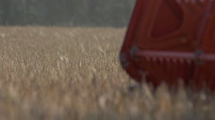 Stock Video Footage  agriculture combine harvester - stock footage