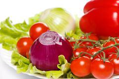 Stock Photo of fresh vegetables