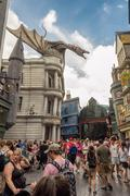 The harry potter ride at universal studios florida Kuvituskuvat