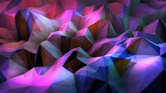 Swirl 3D wave Stock Footage
