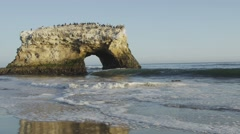 Natural bridge Stock Footage