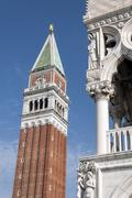 St mark's campanile. Stock Photos