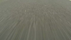 Driving on Highway - Close up view of Asphalt - No 5 Stock Footage
