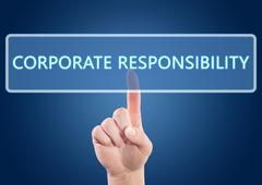 Corporate responsibility Stock Illustration