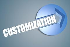 customization - stock illustration