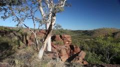 Queensland Outback landscape Australia Arkistovideo