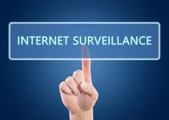 Stock Illustration of internet surveillance