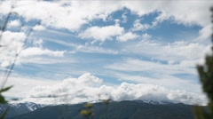 1080p, time lapse of ornevegen landscape, norway Stock Footage