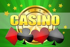 Illustration for design casino Stock Illustration