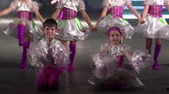 Concert of Ukrainian folk dances, Nikolaev 1 Stock Footage
