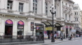 Piccadilly Circus Busy Street Road Junction Car Traffic People Commuting Walking Footage