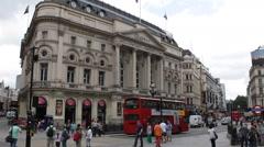 London Pavilion Trocadero Complex Ripley's Believe It or Not Museum Daylight UK Stock Footage