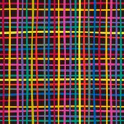 Seamless colorful checkered pattern. Vector Stock Illustration