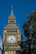 Elizabeth tower and big ben Stock Photos