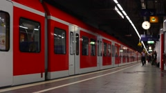 Subway in Munich (3 of 5) Stock Footage