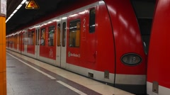 Subway in Munich (5 of 5) Stock Footage