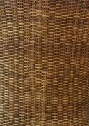 Stock Photo of wicker texture background, traditional handicraft weave