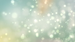 Abstract Soft Particles 03 Stock Footage
