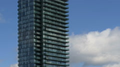 Condominium Highrise Tower - HD 4K+ Stock Footage