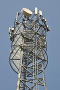 Communications tower Stock Photos