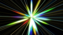 Abstract bright colorful lights - stock footage