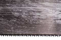 Wood saw blade Stock Photos