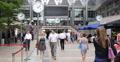 Ultra HD 4K Business Crowd People Walk Passing Lunch Break Canary Wharf London 4k or 4k+ Resolution