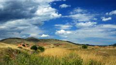 Rolling hills in loveland colorado 4k Stock Footage
