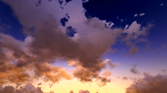 Skyscape timelapse - stock footage