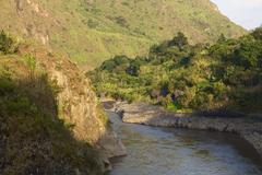 The pastaza river in ecuador Stock Photos