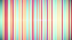 Multicolor stripes loopable background Stock Footage