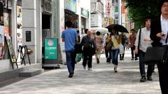 Stock Video Footage of Sidewalk in Akihabara, Tokyo city 2014 (28)