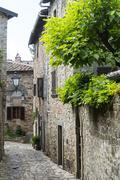 montefioralle (chianti, tuscany) - stock photo